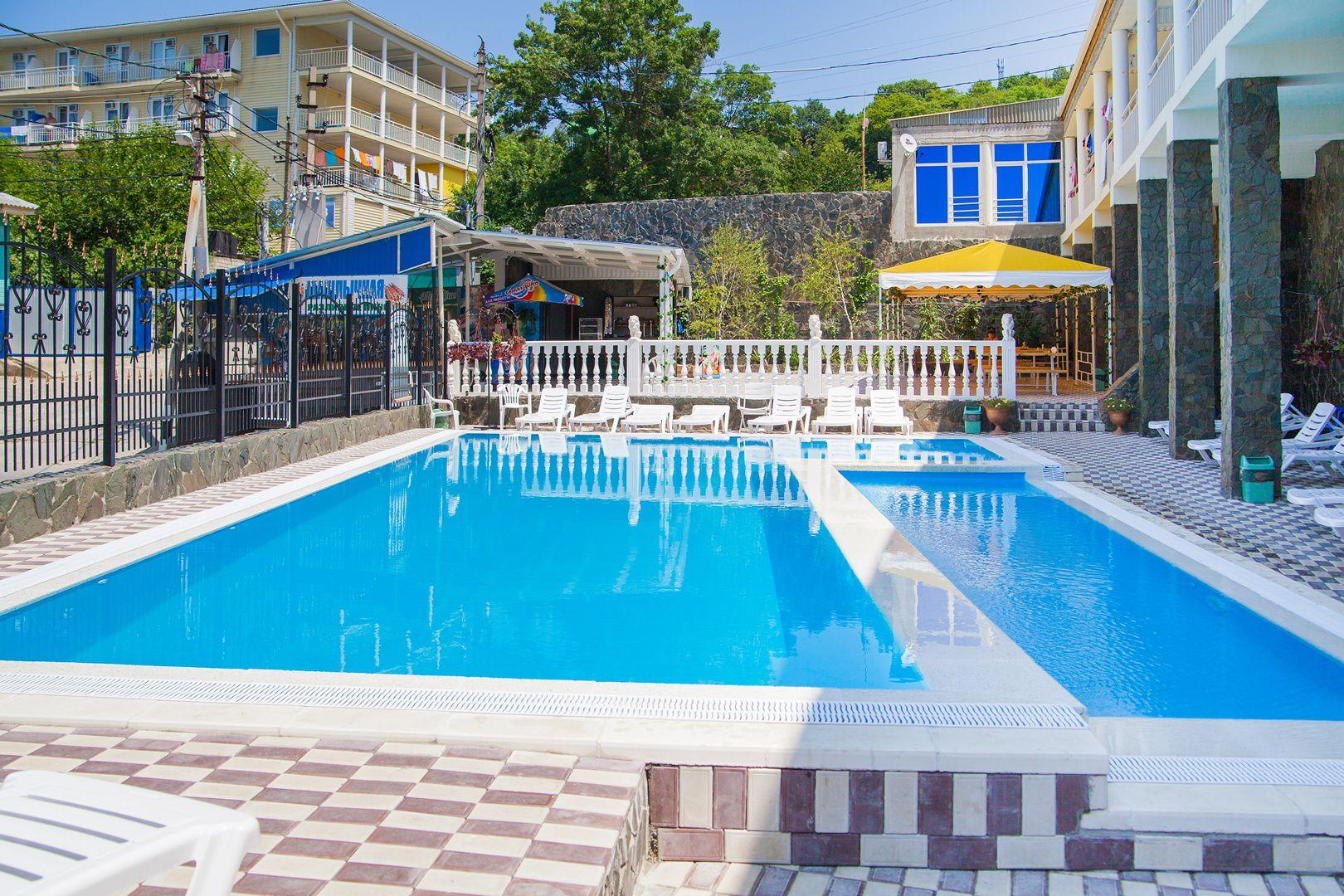 гостиницы с собственным пляжем туапсинского района